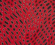 Abie Loy KEMARRE_Awelye - Body painting (Red/White dots)_Australian Aboriginal Art