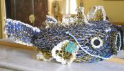 Florence Gutchen_Carlina - Ghost Net Fish_Art aborigene australien