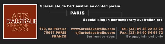 """""""Arts d'Australie"""", dans le cadre de du  Contemporary Paris Art Fair 2014 BandeauNewsletter"""